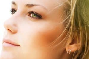 Plastic surgery nose job before and after photo